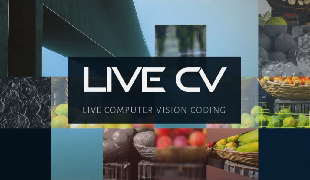 Live CV : A Computer Vision Coding Application