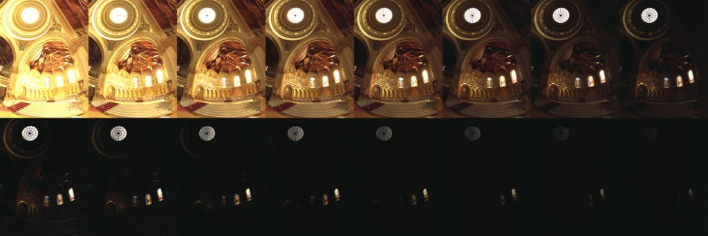 Bracketed exposures for HDR