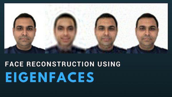 Face Reconstruction using EigenFaces (C++/Python)