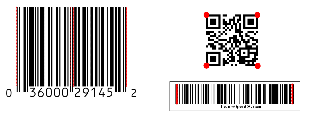 Barcode and QR code Scanner using ZBar and OpenCV | Learn OpenCV