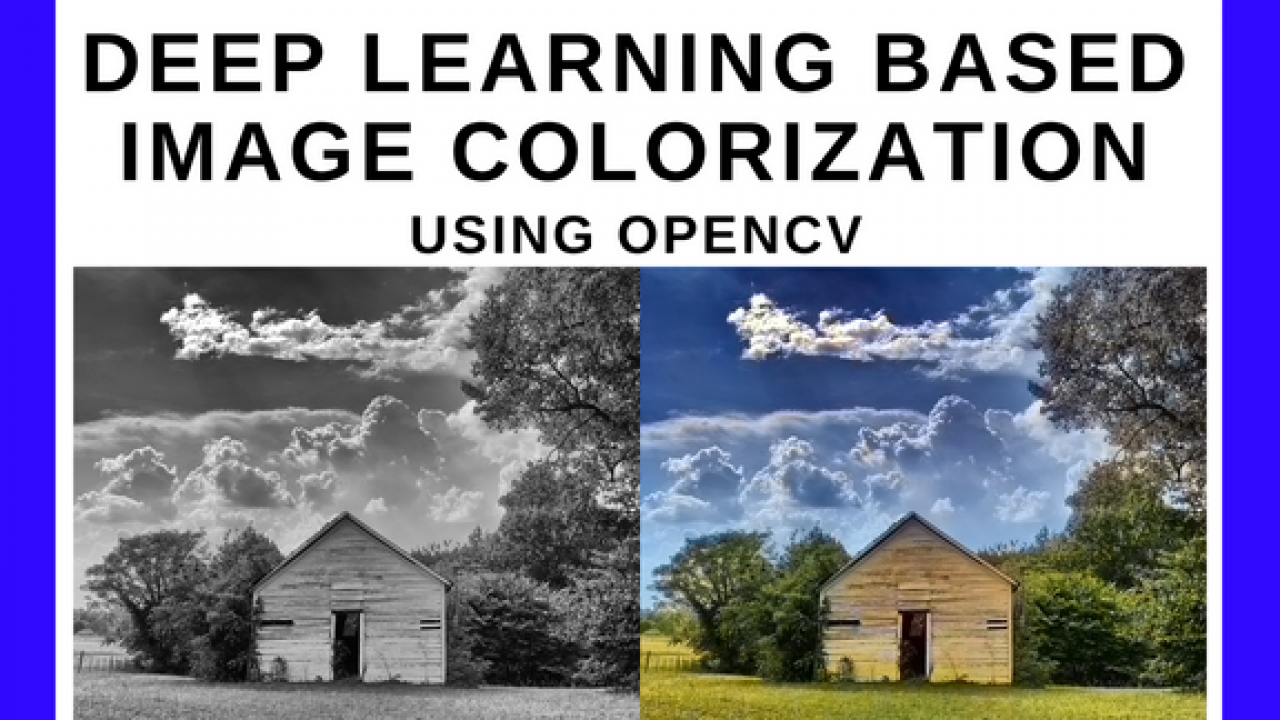 Convolutional Neural Network based Image Colorization using