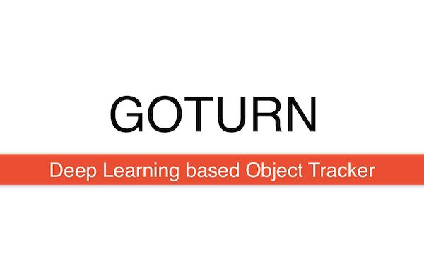 GOTURN : Deep Learning based Object Tracking