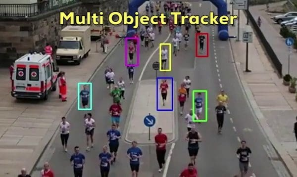 MultiTracker : Multiple Object Tracking using OpenCV (C++/Python)