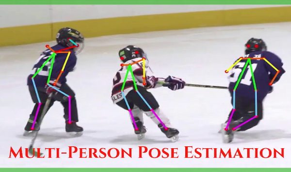 Multi-Person Pose Estimation in OpenCV using OpenPose