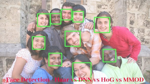 Face Detection – OpenCV, Dlib and Deep Learning ( C++ / Python )