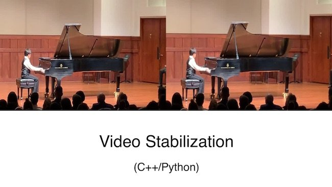 Video Stabilization Using Point Feature Matching in OpenCV | Learn