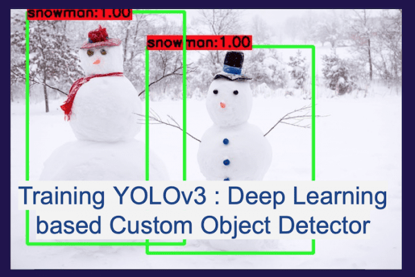 yolov3 training- custom object detector