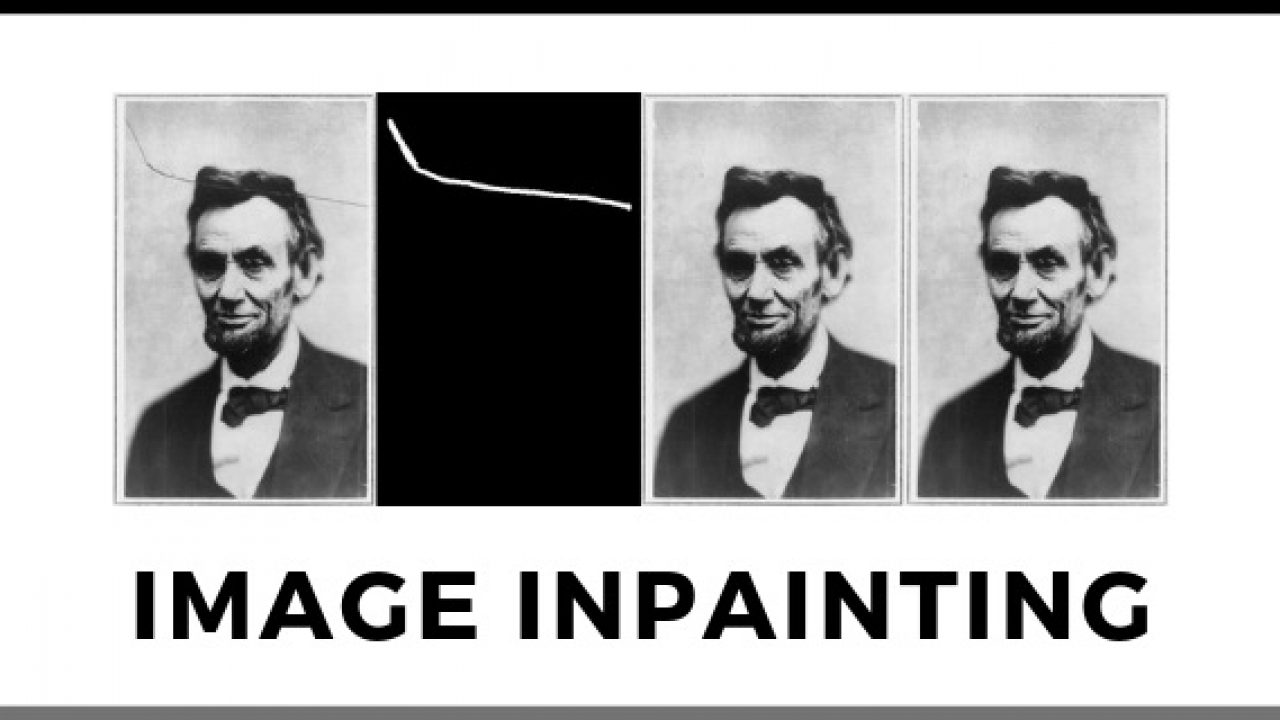 Image Inpainting with OpenCV (C++/Python) | Learn OpenCV
