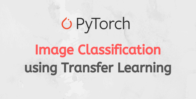Image Classification using Transfer Learning in PyTorch | Learn OpenCV