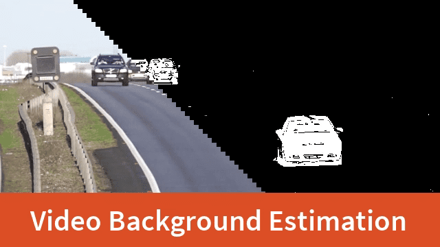 Simple Background Estimation in Videos using OpenCV (C++/