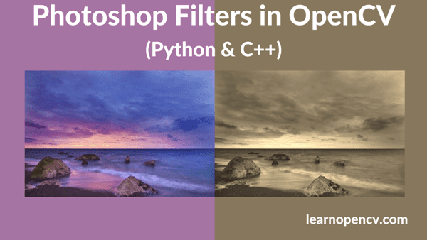 Photoshop Filters in OpenCV